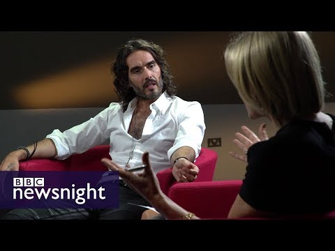 Russell Brand on politics, addiction and promiscuity  BBC night