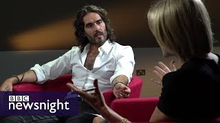 Russell Brand  Politics and promiscuity   BBC Newsnight