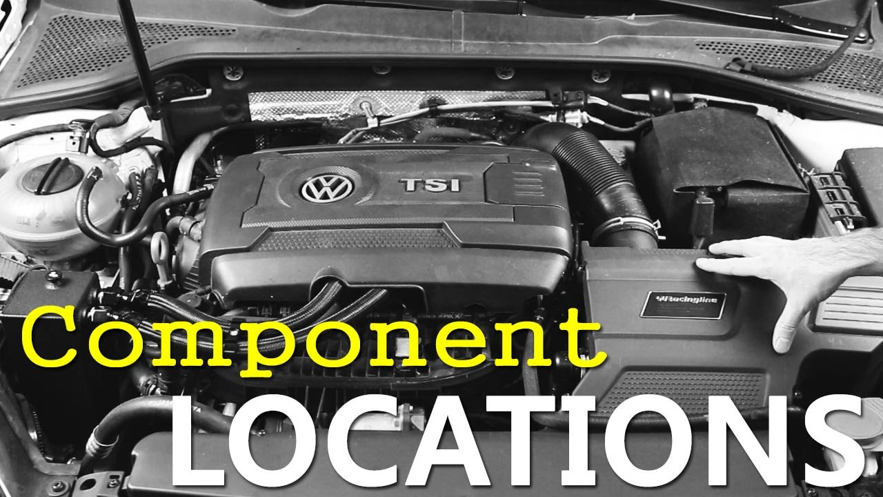 MK7 Engine Component Locations YouTube