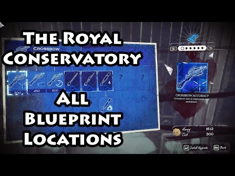Dishonored 2 - The Royal Conservatory - Blueprints