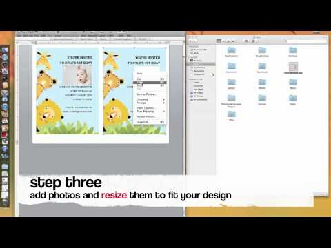 How To Make Kids Birthday Invitation With MS Word Printable – How to Make Invitations on Word