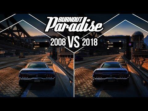 Burnout Paradise Vs Remastered - Graphics Comparison