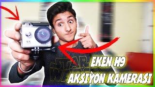 UCUZA EFSANE AKSİYON KAMERASI ! + TEST (EKEN H9)