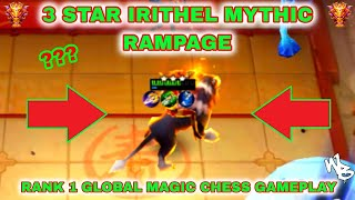 3-STAR IRITHEL RAMPAGE - MASSIVE DAMAGE - BEST MAGIC CHESS SYNERGY - Mobile Legends Bang Bang