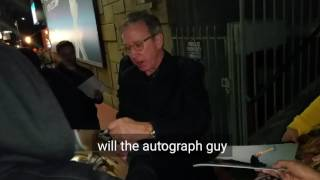tim allen signing autographs for fans in hollywood