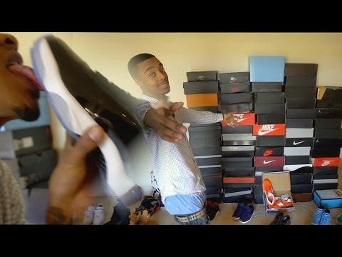 MY ENTIRE UPDATED SNEAKER COLLECTION 2017! RARE LIMITED HEAT, JORDANS FOAMS!
