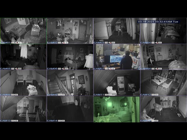 Security CAMS 2 Day Haunted Hill House (Real Demonic Activity)