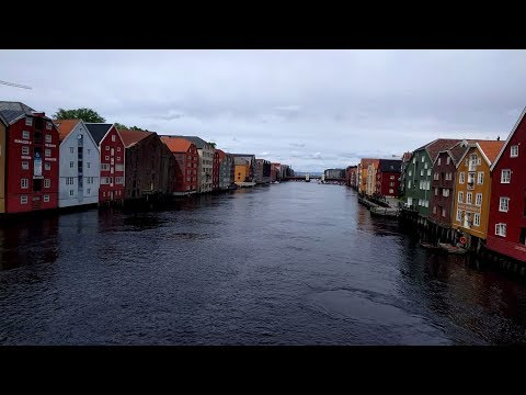Walking tour of Trondheim, Norway given by the Tourist Information Office