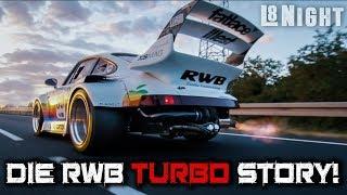 Die L8Night Serie #3 -  RWB Porsche 964 TURBO - Rauh Welt Begriff