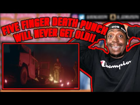 Five Finger Death Punch - Gone Away (Official Video) *Reaction