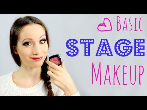 Basic Stage Makeup Tutorial 2018