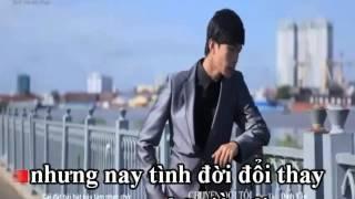 karaoke] Chuyện đời tôi (full beat) HD