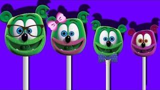 Gummy Bear Song Finger Family Lollipop Nursery Rhyme