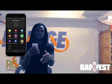 Record Studio Quality raps with the Rapchat App!