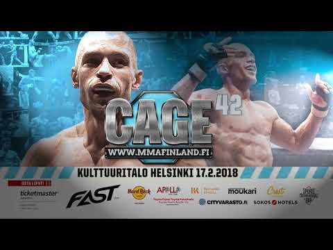 CAGE 42 The Art of MMA in Helsinki 17.2.2018
