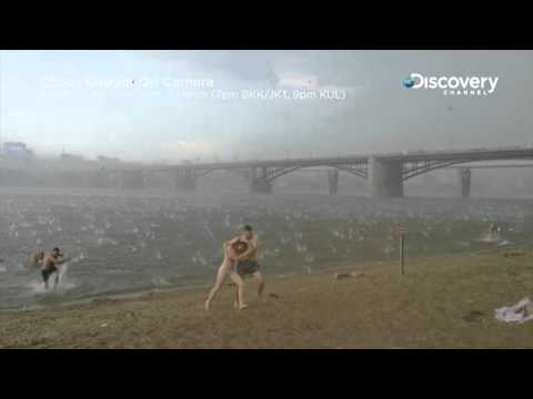 Sudden Hailstorm In Siberia | Chaos Caught On Camera