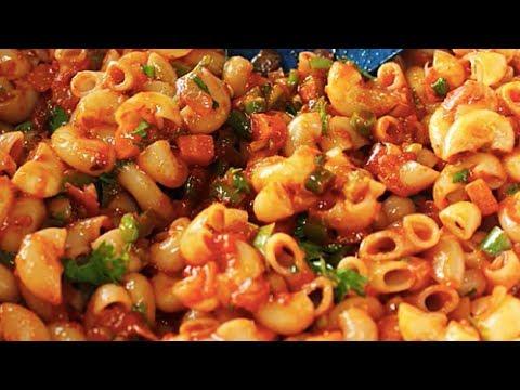 Macaroni Pasta   Indian Style Pasta Recipe For Kids   Kanak's Kitchen