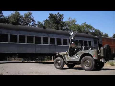 Niles Canyon WWII Military Troop Train