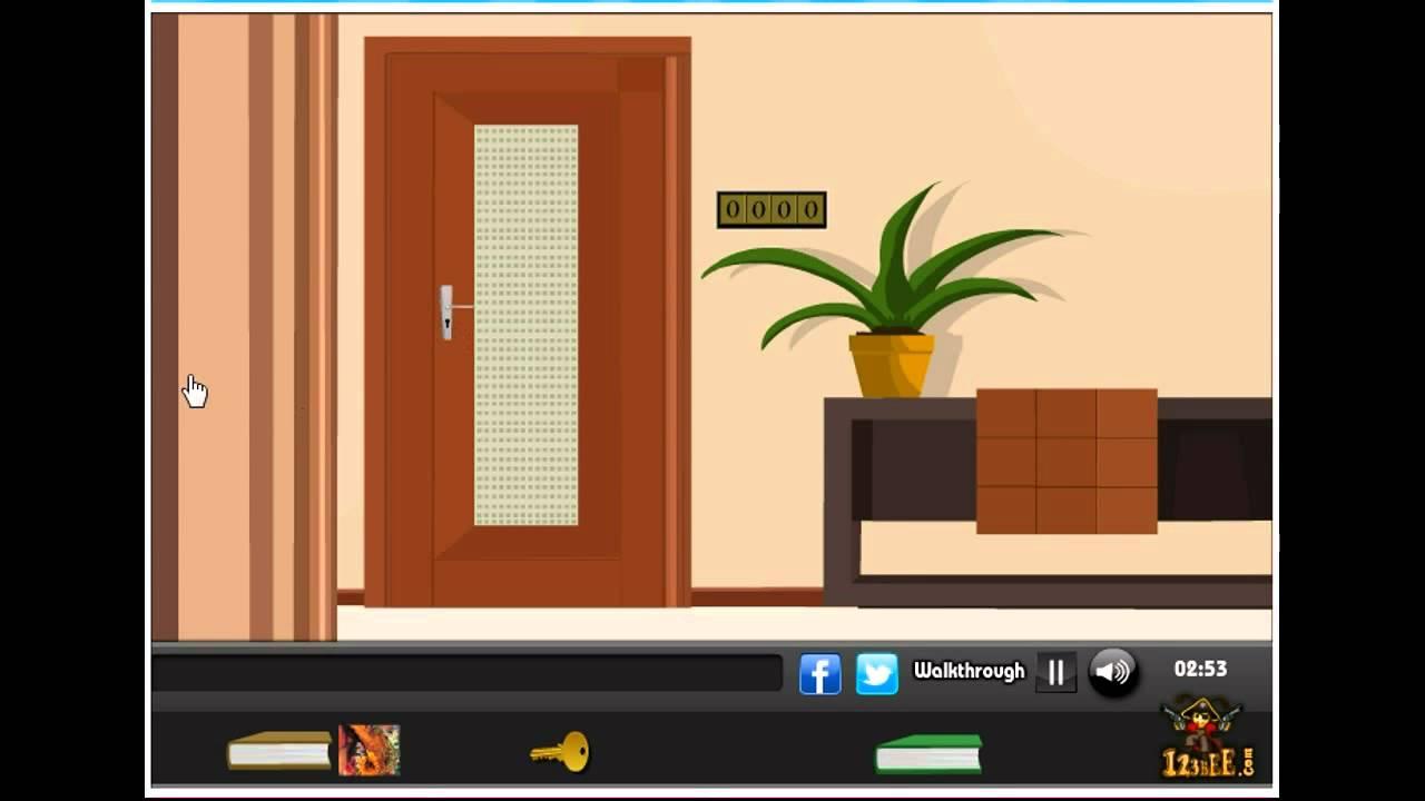 Bungalow house escape walkthrough 123bee youtube for Minimalist house escape 2 walkthrough