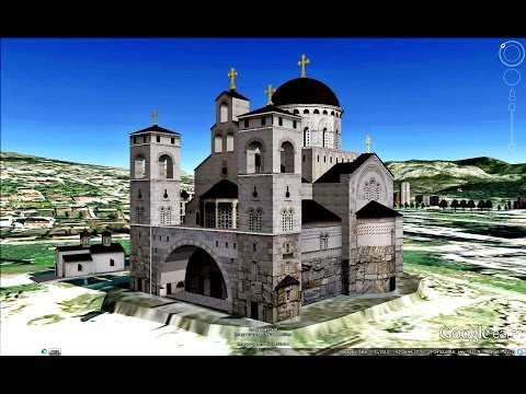 HISTORICAL PLACES OF MONTENEGRO IN GOOGL EARTH  PART  ONE  ( 1/3 )