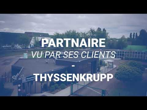 Les témoignages Partnaire - Catherine Mombelli de l'entreprise Thyssenkrupp