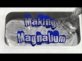 Making Magnalium for use in Pyrotechnics