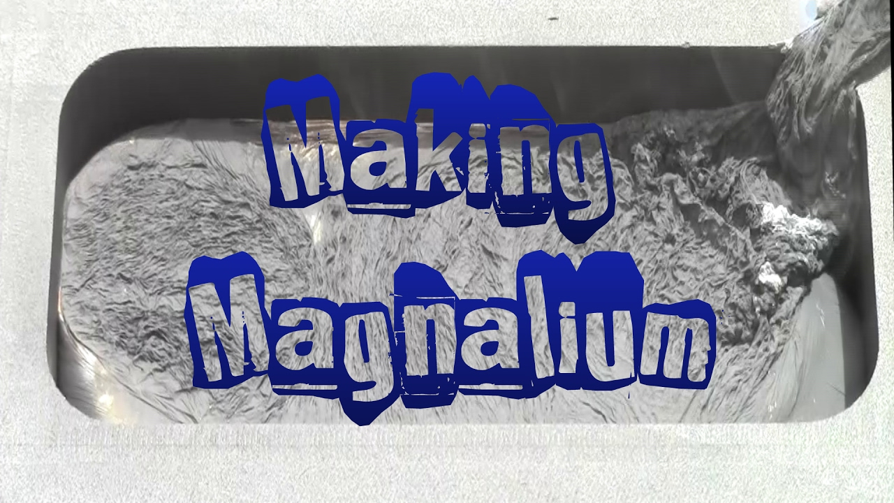 Download Making Magnalium for use in Pyrotechnics