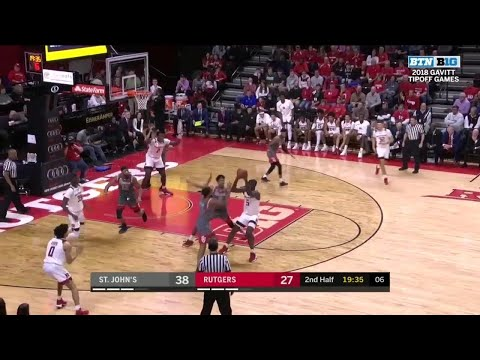 Highlights: St. Johns at Rutgers | Big Ten Basketball