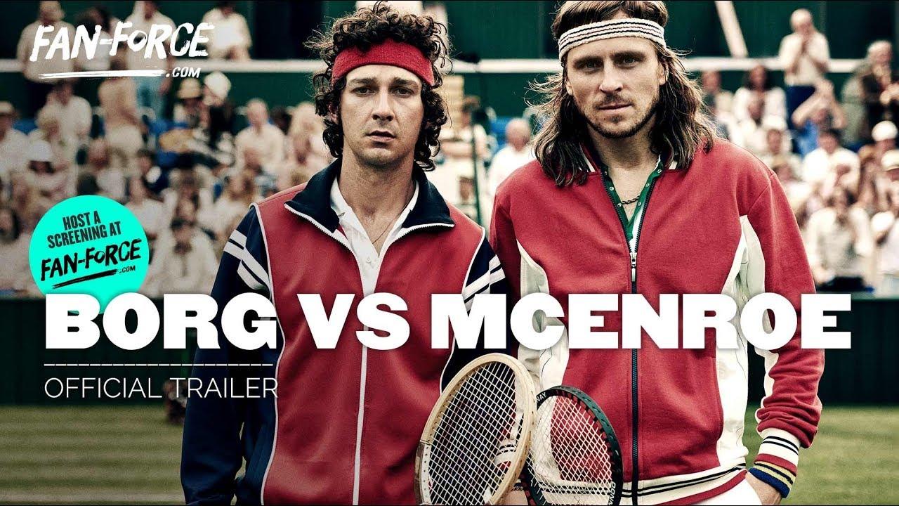 Download BORG VS MCENROE   Official Trailer HD
