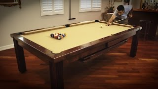Vision Billiards Toledo Dining/Billiard Table Review