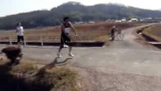 2009吉備路マラソン20km地点です。