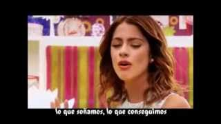 Violetta 2 Hoy Somos Mas Video Clip Letra