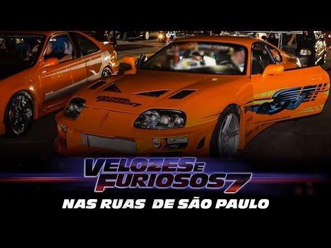 Velozes e Furiosos levou fãs para a pré-estreia exclusiva
