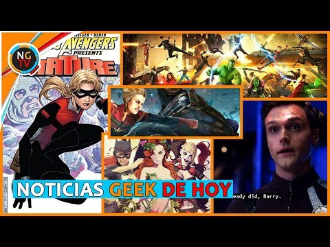 Avengers 4  - Ant Man 2 - Capitán Marvel Vs Thanos - The Flash 4x18 - Gotham City Sirens