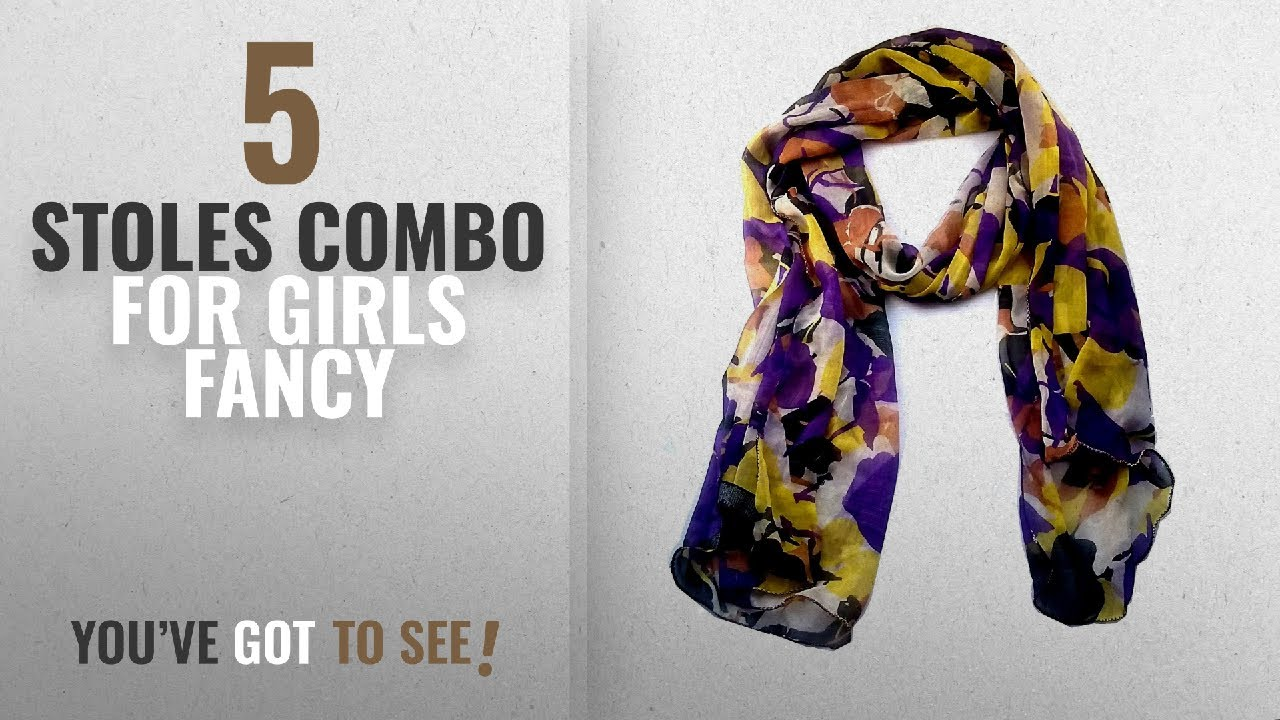 7030bf4dc Top 10 Stoles Combo For Girls Fancy [2018]: vanilla scarf for girls stoles  for women scarf hijab