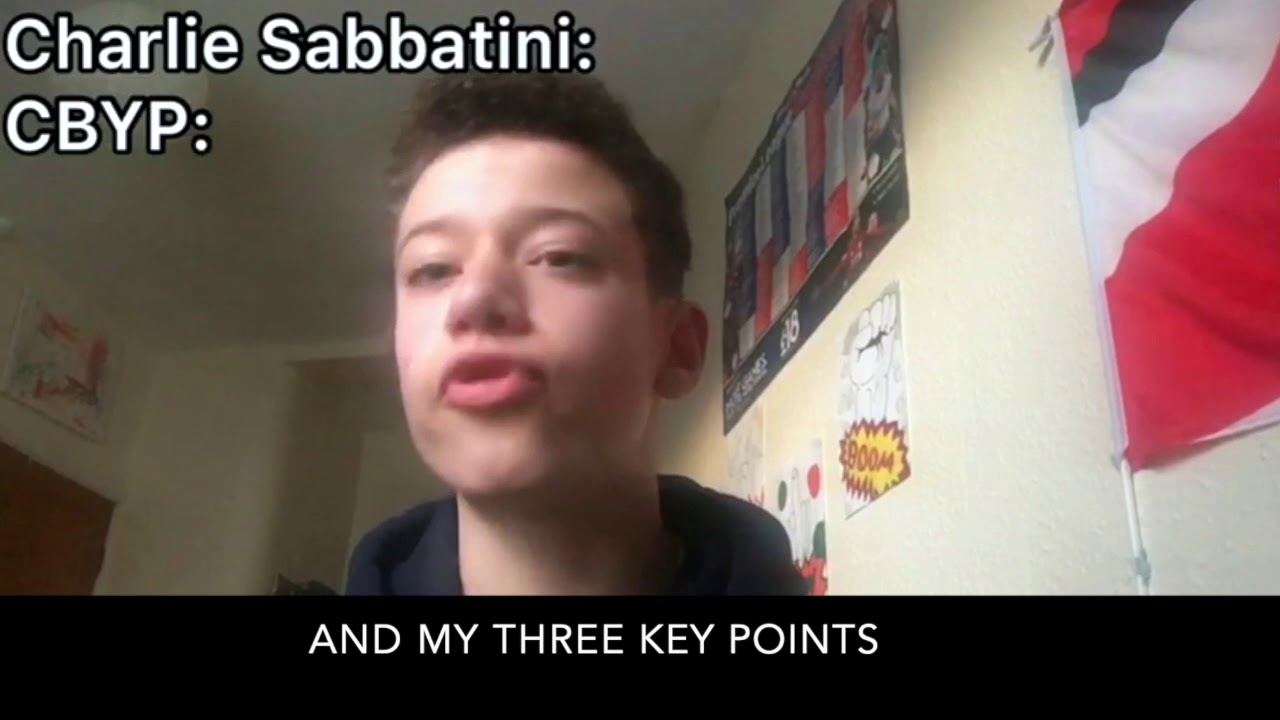 Introducing Charlie Sabbatini