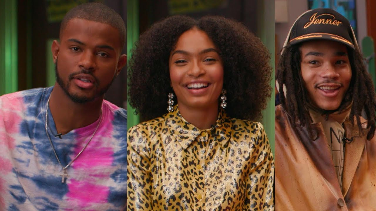 Grownish season 2 Zoey, Aaron, and Luca