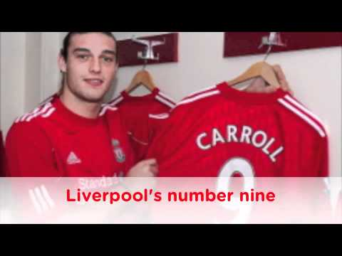 Andy Carroll song for Liverpool FC