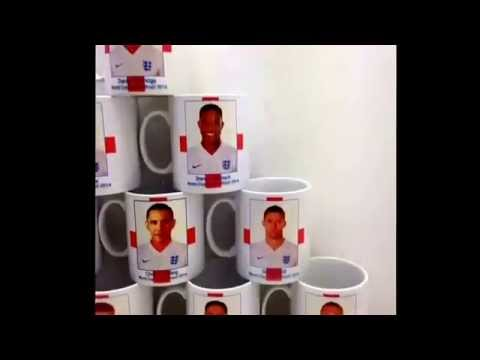England's latest addition, president Obama. Misprinted novelty World Cup items #englandvsuraguay