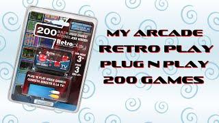 My Arcade RetroPlay Plug N Play 200 Games