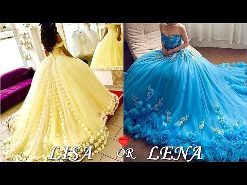 Quinceañera & Prom & Wedding Dresses - LISA OR LENA💖 Pinkazina.com from YouTube · Duration:  4 minutes 25 seconds