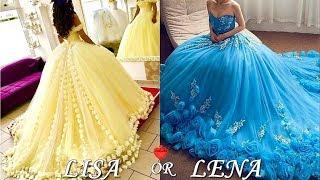 Quinceañera & Prom & Wedding Dresses - LISA OR LENA💖 Pinkazina
