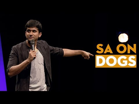Why dogs aren't a man's best friend? - Stand Up Comedy - Aravind SA
