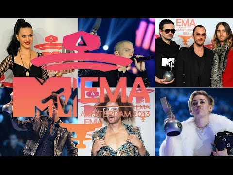 MTV EMA 2013 nominees & winners