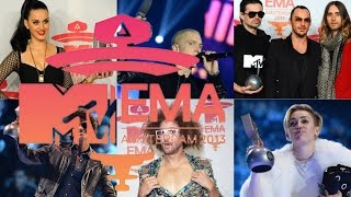 MTV EMA 2013 nominees & winners