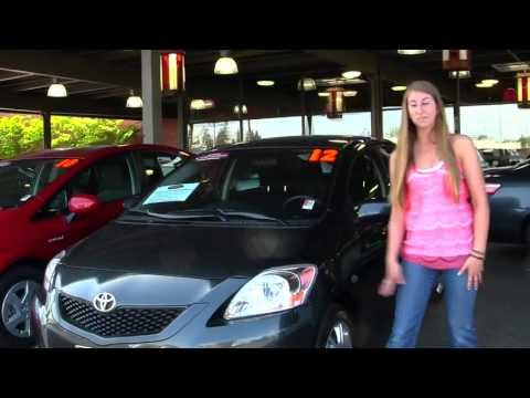 Virtual Walk Around Video of a 2012 Toyota Yaris at Titus Will Toyota in Tacoma