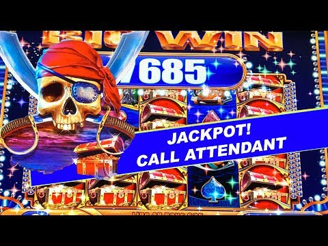 $50 SPINS ★ PIRATE SHIP HIGH LIMIT SLOTS ➜ MASSIVE BONUS JACKPOT