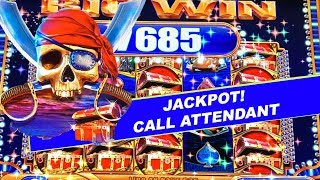 $50 SPINS ★ PIRATE SHIP HIGH LIMIT SLOTS ➜ MASSIVE BONUS JACKPOT