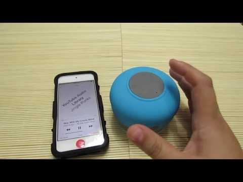 Review Gearbest: BTS-06 (Bocina Con Bluetooth Resistente al Agua Ideal Para La Ducha)