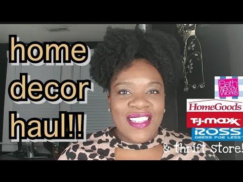 HOME DECOR HAUL!!